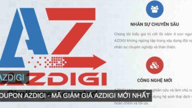 Photo of Mã giảm giá AZDIGI, Coupon mới nhất 04/2020