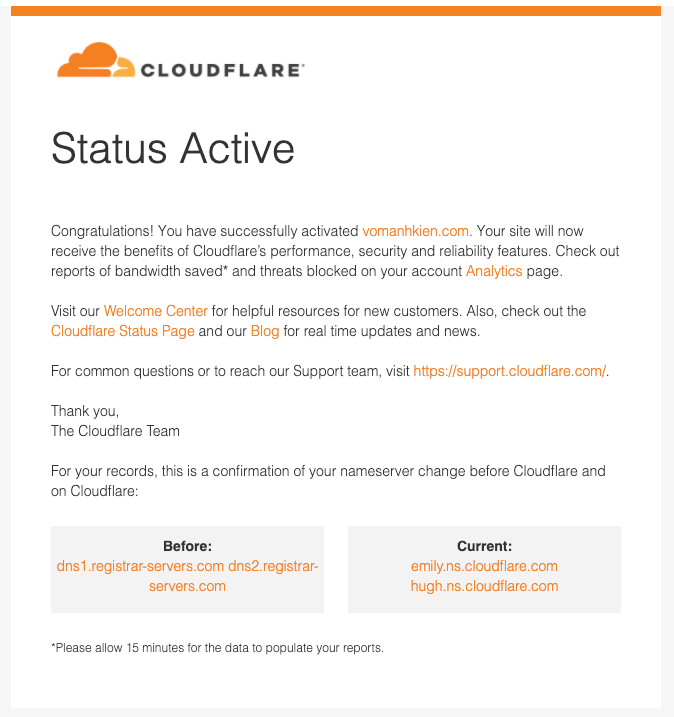 cloudflare comfirm