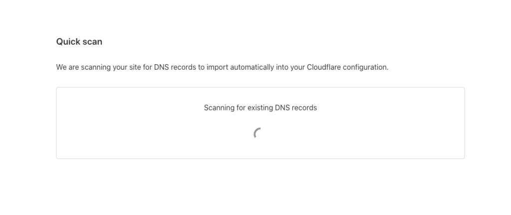 Chờ scan DNS
