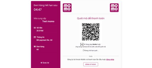 Plugin tích hợp thanh toán Momo cho WooCommerce 3