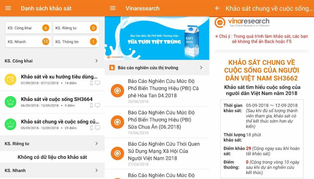 Vinaresearch là gì? Cách kiếm tiền với Vinaresearch update 2020 2