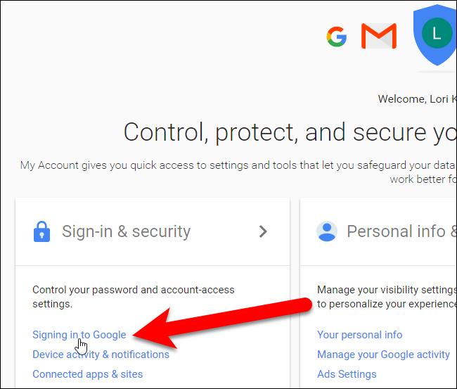 Truy cập tài khoản gmail của bạn