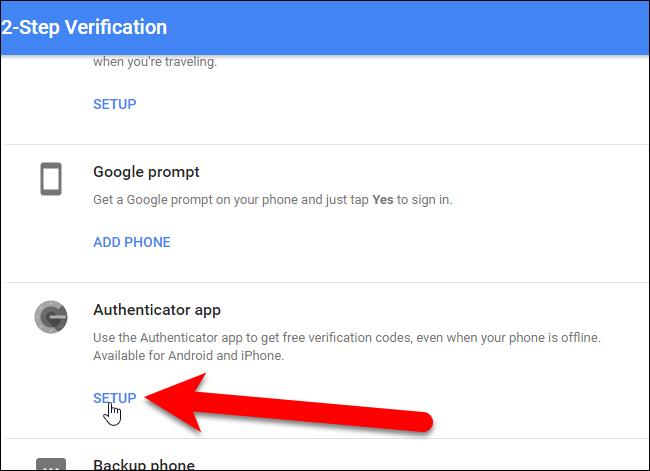 Hướng dẫn kích hoạt Google Authenticator